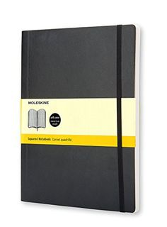 Moleskine Classic Notebook, Extra Large, Squared, Black, ... https://www.amazon.com/dp/8883707249/ref=cm_sw_r_pi_dp_x_pbetyb16ZSSXY