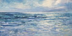 A New England oil painter with a focus on Cape Cod inspired seascapes with a contemporary feel. Color and atmosphere is an emphasis. Little House Living, Original Paintings For Sale, Oil Painters, White Houses, Cape Cod, New England, Ocean Paintings, Art Gallery, Blue And White