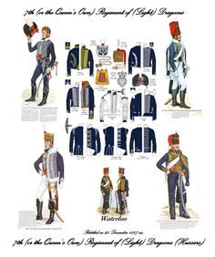 7th Light Dragoons Uniforms - Hopner (Artist).jpg (Obrazek JPEG, 4758×5694pikseli) - Skala (13%)