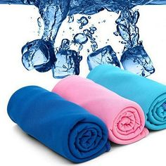 Fitness Magic Rapid Cooling Towel Quick Cool Down Cloth