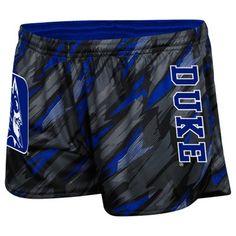 Duke Blue Devils Ladies Vision Shorts - Duke Blue