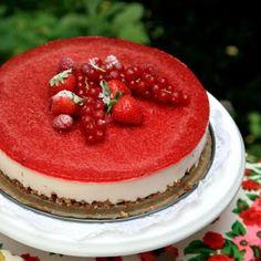Aardbeienmascarponetaart - met Zonnigfruit