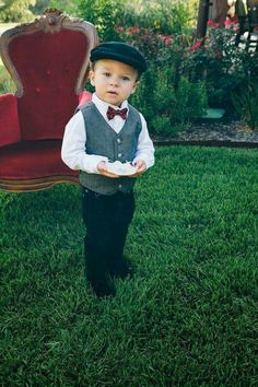 Ring Bearer Outfit Wine Ideas - Kelsey's second wedding - Ring Boy, Ring Verlobung, Ring Bearer Outfit, Gold Diamond Wedding Band, Second Weddings, Groom And Groomsmen, Bridal Lace, Wedding Attire, Dream Wedding