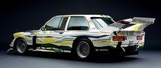 BMW 320i painted by Roy Lichtenstein 1977