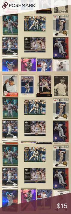 NY YANKEES DEREK JETER | Baseball Card Lot Of 14 Perfect starter set for ALL: NY YANKEES, DEREK JETER AND BASEBALL FANS! All cards in mint condition. Other