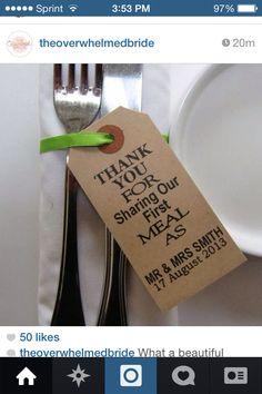 Nette Idee zum Essen