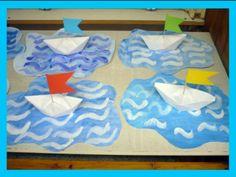 Art For Kids, Crafts For Kids, Sea Crafts, Classroom Door, Montessori Activities, Summer Art, Preschool Crafts, Transportation, Children