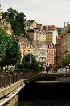 Karlovy Vary, Czech Republic (by PKirillov) (All things Europe) Beautiful Places In The World, Oh The Places You'll Go, Places To Visit, Europe Travel Tips, Places To Travel, Travel Around The World, Around The Worlds, Prague Czech Republic, Central Europe