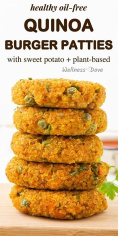 A super healthy burger patties made from whole food, plant-based ingredients. Autritious,oil-free, vegan recipe that makes a great burger together with some avocado and onions. Quite versitile, super easy to make and really satiating. Enjoy them for breakfast, in your linch box or for dinner. They are you friend in living healthfully and losing weight!