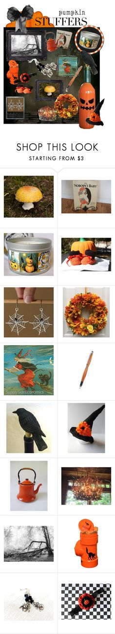 Pumpkin Stuffers for the Whole Family by funnfiber on Polyvore featuring interior, interiors, interior design, home, home decor, interior decorating, vintage and integrityTT
