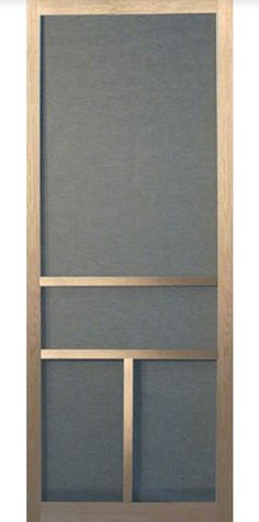 Do It Yourself Wood Screen Door Kit The Craftsman This