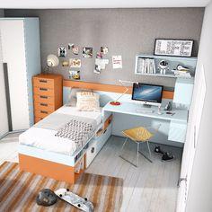 #juniorroom #mueble #juvenil #kidsroom #UP16 #grupoexojo