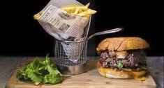 Burger et dessert pour 2 personnes - Restaurant KANON PUB à Paris 17 E Arrondissement