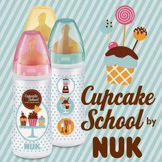 Nuk Cupcake School: para los bebes mas dulces!!!