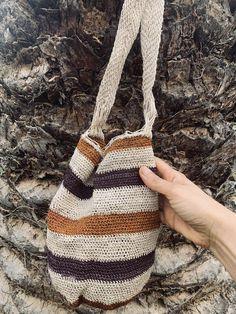 Artisan Ethnic Hippie WOOL Cross Body Messenger Shoulder Bag Handmade in Ecuador