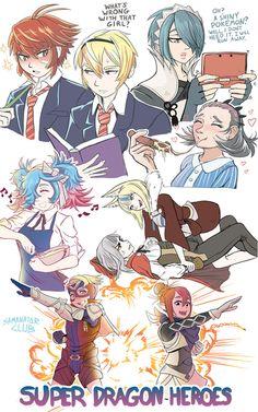 Fire Emblem Fates sketches by SanimatorClub