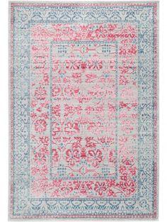 Teppich Visconti Grau/Pink | Carpet Visconti Grey/Pink