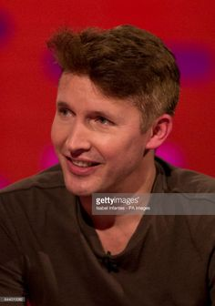 News Photo : James Blunt during filming of the Graham Norton...