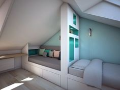 living room ideas – New Ideas Attic Rooms, Small Room Bedroom, Kids Bedroom, Amber Room, Long House, Small Space Interior Design, Bunk Bed Designs, Teen Room Decor, Fashion Room
