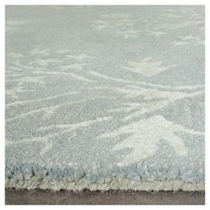 Bella Rug - Light Blue/Ivory - (5'X5' Square) - Safavieh