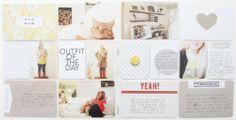 Katie's Project Life® 2014 | Weeks 39 Through 48 #projectlife #scrapbook