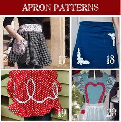 aprons for christmas gifts?? if i can figure out my sewing machine - that is my goal for this weekend