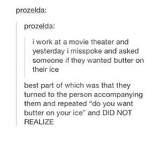 butter on your ice?