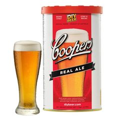 Beer kit Coopers Real Ale – – Império do Cervejeiro Brew Shop Brew Shop, Beer Ingredients, Snack Recipes, Snacks, Brewing, Ale, Chips, Simple, Food