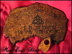 Ouija Board Charmed replica - wicca exorcism witch magic - BIG 15,7x23,6 inches. $109.50, via Etsy.
