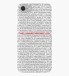 The Lunar Chronicles iPhone Case/Skin Book Phone Case, Marissa Meyer Books, Lunar Chronicles, Iphone Case Covers, Good Books, Cinder, Hamilton, Friendship, Nerd