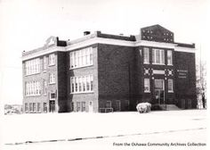 Westmount School, from the Oshawa Archives Collection