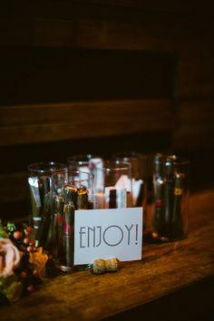bar Wedding Inspiration - Style Me Pretty