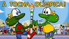 A Tocha Olímpica - Desenho animado infantil sobre as Olimpíadas Brasil 2...