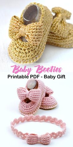 Make a cute pair of baby booties and a headband. Favorite Baby Shoes Crochet Patterns - Adorable - A More Crafty Life Make a cute pair of baby booties and a headband. Favorite Baby Shoes Crochet Patterns - Adorable - A More Crafty Life Crochet Shoes Pattern, Baby Shoes Pattern, Crochet Headband Pattern, Booties Crochet, Shoe Pattern, Crochet Slippers, Baby Patterns, Knitting Patterns, Crochet Beanie