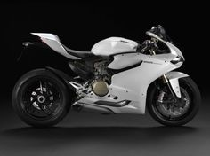 2013 Ducati 1199 Panigale – Now in Arctic White