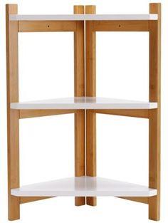 tier two tone corner shelf unit at visit argos