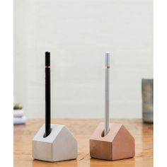 Smithers Concrete Pen House storage is the perfect desk companion. Made of solid concrete in white or pink. Cool gifts for the office Unique Gifts For Men, Cool Gifts, Presents For Her, Gifts For Him, Christmas Stocking Fillers, Christmas Gifts, Gift Store, Stores, Mother Day Gifts