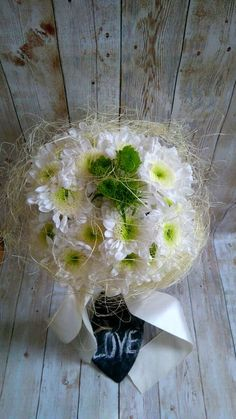 Delicate subtle Bride's Bouquet! by thehappylittlejar on Etsy
