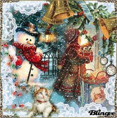 Frosty The Snowman/ animated snow click here   http://bln.gs/b/27m10p