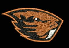Oregon State Beavers Embroidered Patch