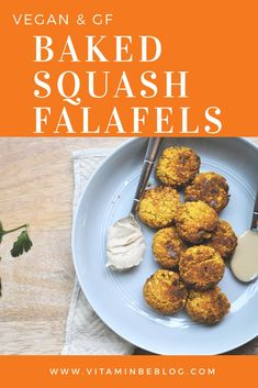 Sweet & Savory Baked Squash Falafels (Vegan & GF) VitaminBE is part of Vegan asian recipes - I'm so excited that I finally perfected this baked falafel recipe! Falafels are one of my favorite foods by far I love how crunchy they… Best Vegan Recipes, Easy Healthy Recipes, Fall Recipes, Indian Food Recipes, Healthy Snacks, Keto Vegan, Vegan Foods, Vegan Dishes, Vegetarian Keto
