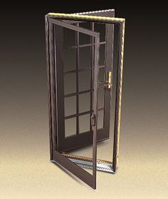 Single french style door with insulated glass and for Insect screens for french doors