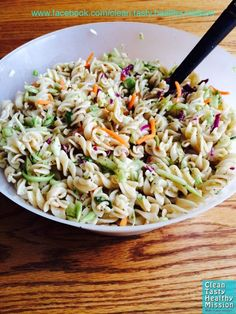 QUICK VEGGIE PASTA SALAD Ingredients: 1 lb quinoa pasta, cooked according to package directions 4 cups broccoli slaw 3 scallions, chopped 3 cloves garlic, diced 1/4 cup balsamic dressing Combine in…