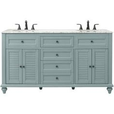 home decorators collection hamilton 61 in. w x 22 in. d double