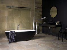 Victoria + Albert Barcelona bath in black finish