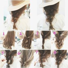 Scarf Hairstyles, Cool Hairstyles, Summer Hairdos, Medium Hair Styles, Short Hair Styles, Long Hair Designs, Hair Arrange, Bleached Hair, Great Hair