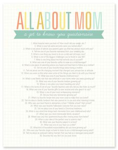 all about mom from Simple As That