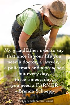Thank A Farmer #thefemalefarmerproject