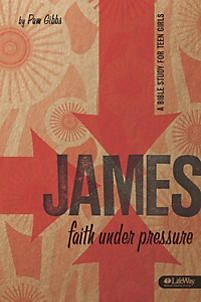 James: Faith Under Pressure by Pam Gibbs is a Bible study written especially for teenage girls. Trials. Temptation. Favoritism. Peace. Authenticity. For girls, their faith collides with everyday life, and they often wonder how to remain a faithful follower of Jesus in the midst of the pressure they face regularly. This eight-week study helps teen girls learn that they can survive—even thrive—when faith meets real life. 8 sessions.