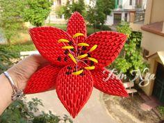Квиллинг и бумажное творчество Origami 3d, Modular Origami, Quilling Flowers, Paper Quilling, Fun Crafts, Diy And Crafts, Paper Crafts, Quilling Techniques, Paper Art